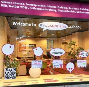 Evolanguage German language school Munich