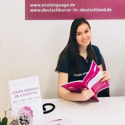 Evolanguage Learn German in 4 months Mainz Frankfurt Hamburg Munich